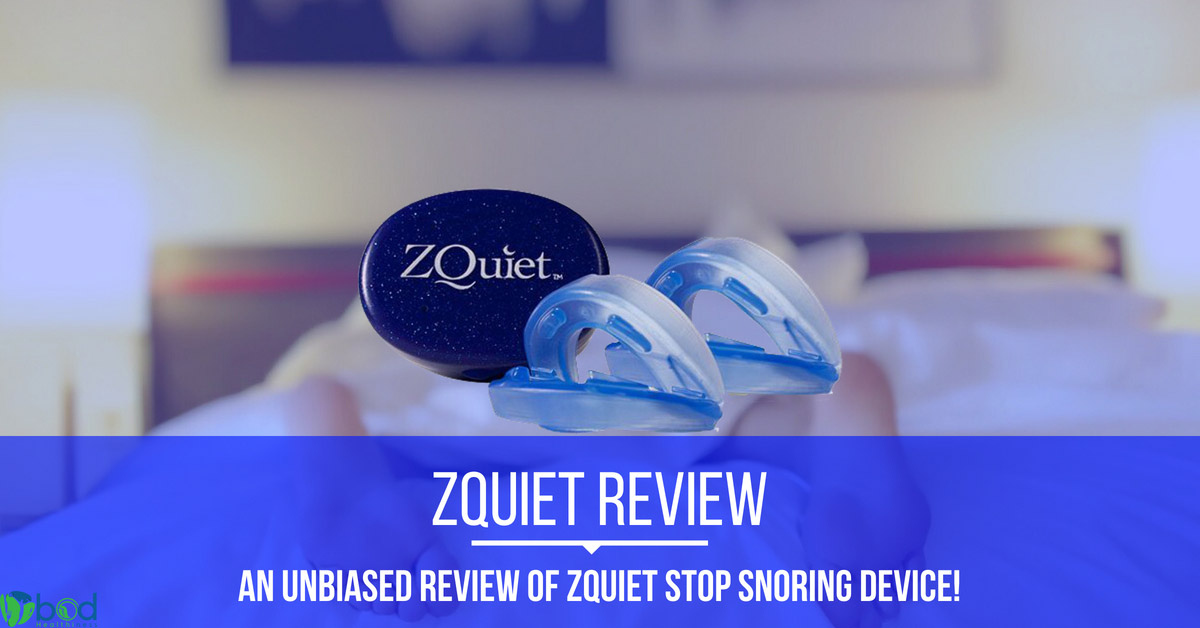 Zquiet stop snoring mouthpiece Review