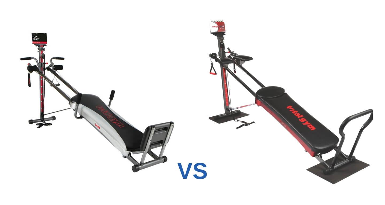 Total Gym 1400 vs 1900