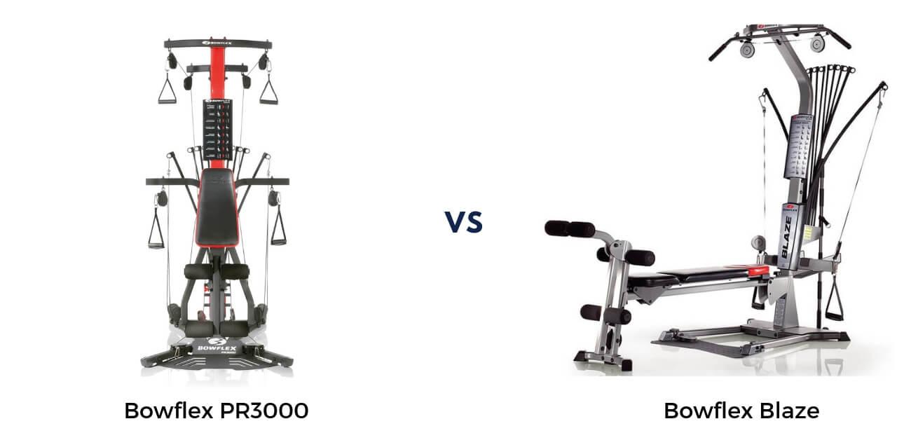 Bowflex Blaze vs PR3000