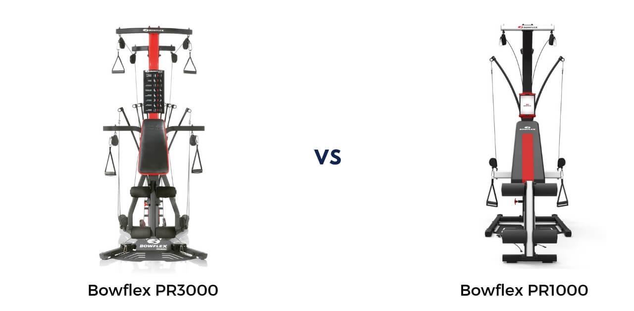 Bowflex PR1000 vs PR3000