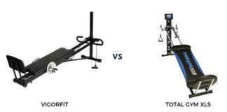 Vigorfit vs Total Gym review