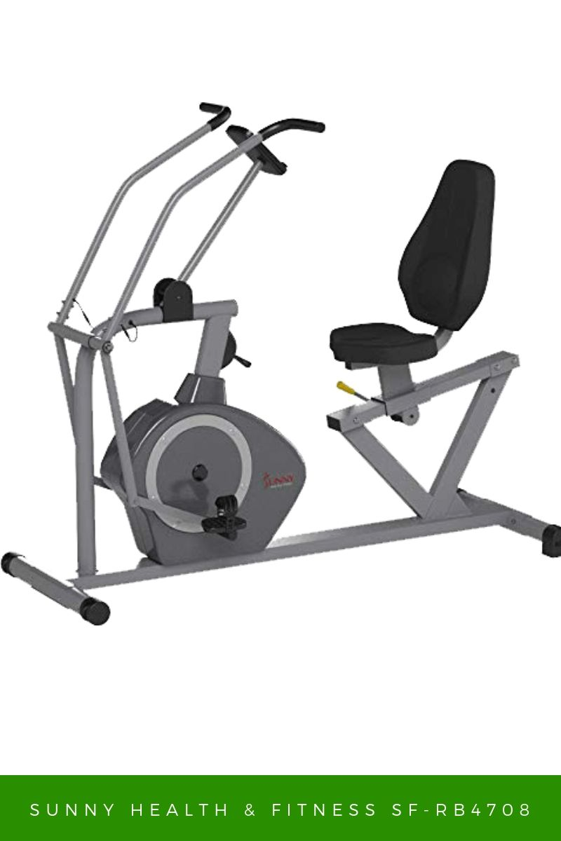 Best recumbent exercise bike with arms for overweight