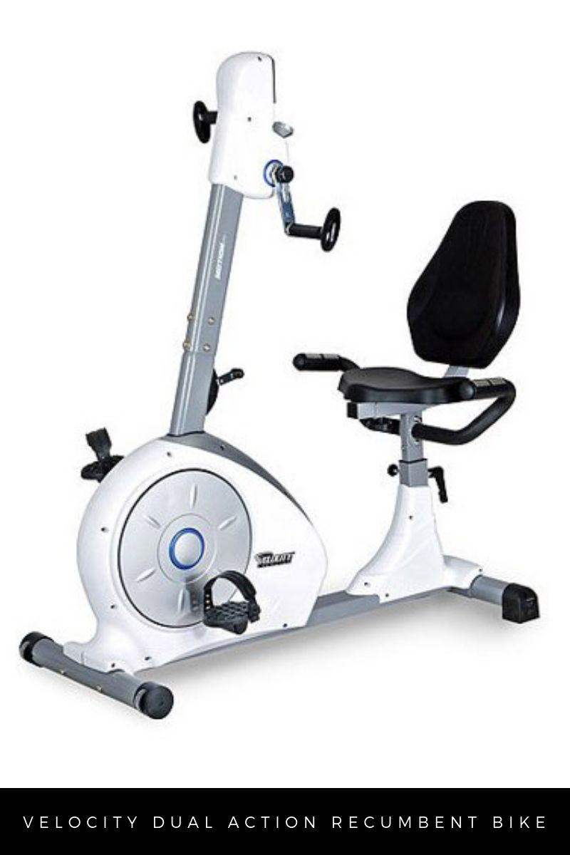 Velocity Recumbent Bike with Moving Handles