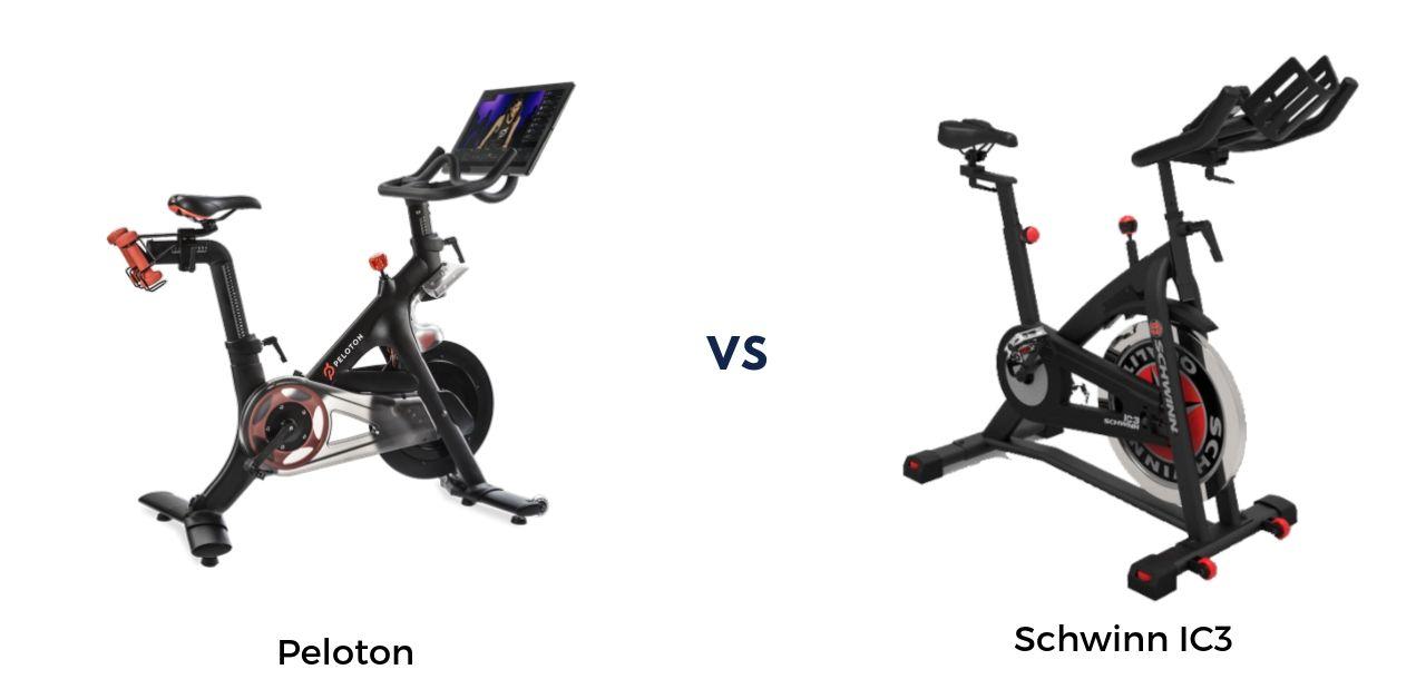 Peloton vs Schwinn IC3