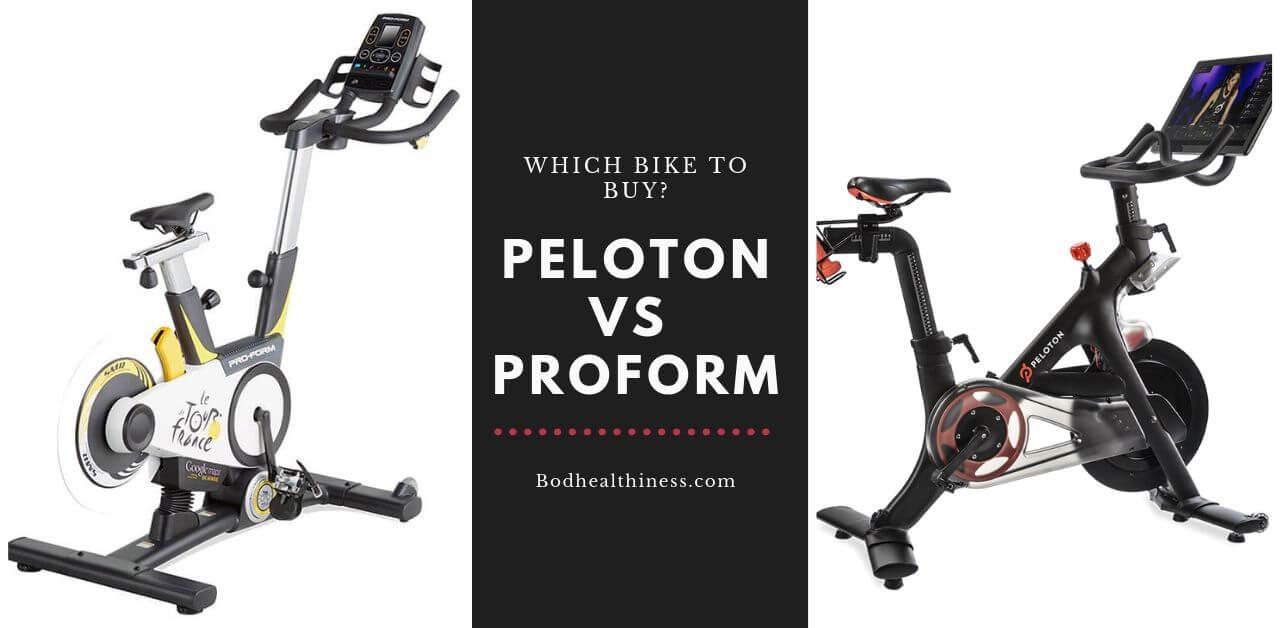 Proform vs Peloton