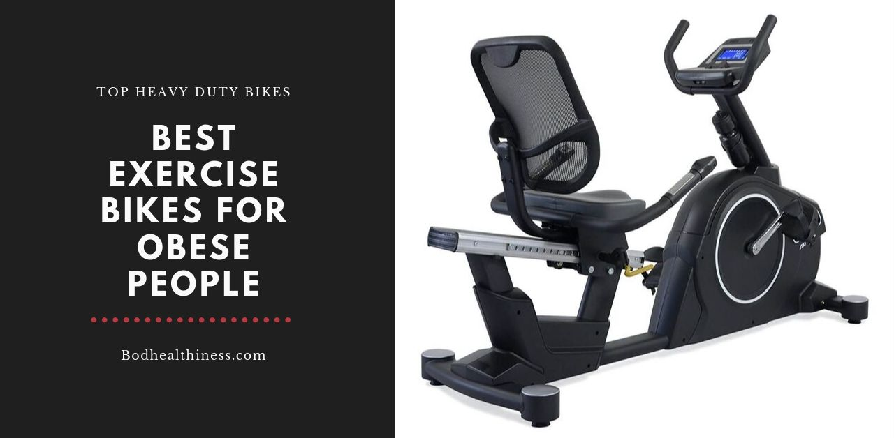best exercise bikes for overweight people